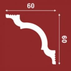 ПЛИНТУС ПОТОЛОЧНЫЙ I60/60 60х60мм, 2 П.М.