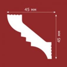 ПЛИНТУС ПОТОЛОЧНЫЙ L45/45 45х45мм, 2 П.М.
