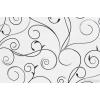 ОБОИ 11-152-03 ВСПЕН. ВИНИЛ НА ФЛИЗЕ СВИРЛ.ЧЕРН. НА БЕЛ. 1.06х10м, г.Москва